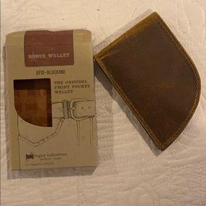 BNIB!! Rogue Industries RFID-Blocking Wallet Brown